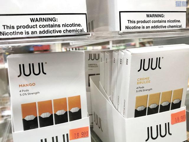 Juul暫時下架水果和甜點口味的電子煙產品。洛杉磯時報