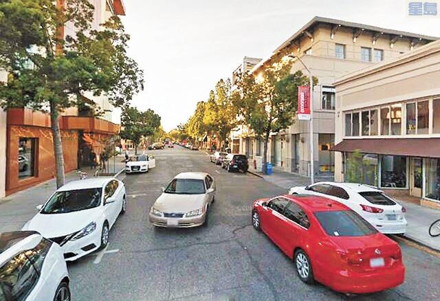 波羅阿多部份居民停車在自家門前街道要繳費。圖為要收費的波巿老區Emerson 街。資料圖片