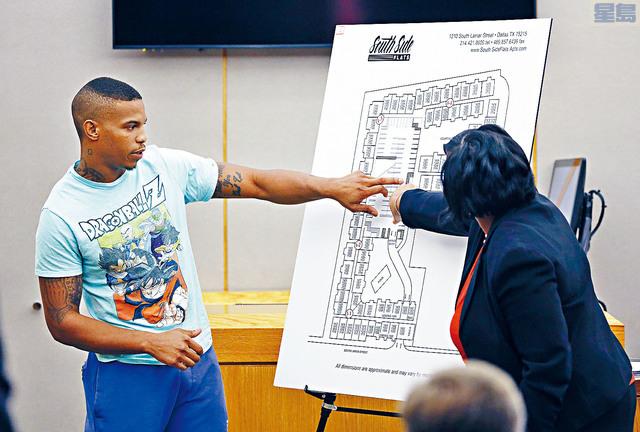 ■達拉斯女警誤殺非裔鄰居案的證人布朗(左),證實是在毒品交易時中槍身亡。美聯社