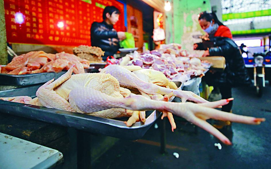 中國正研究解除美國禽肉進口禁令。