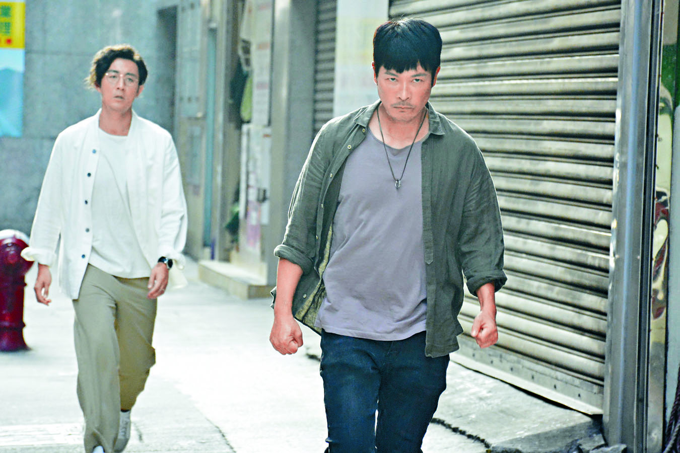 劇中譚俊彥老是煩着安仔。