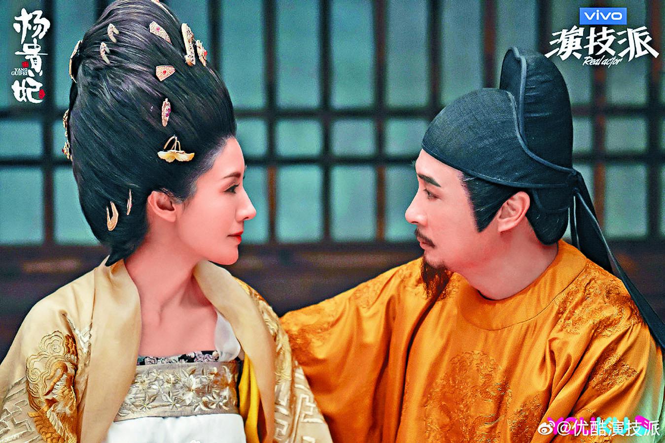 李嘉欣與吳鎮宇齊參與綜藝節目《演技派》。