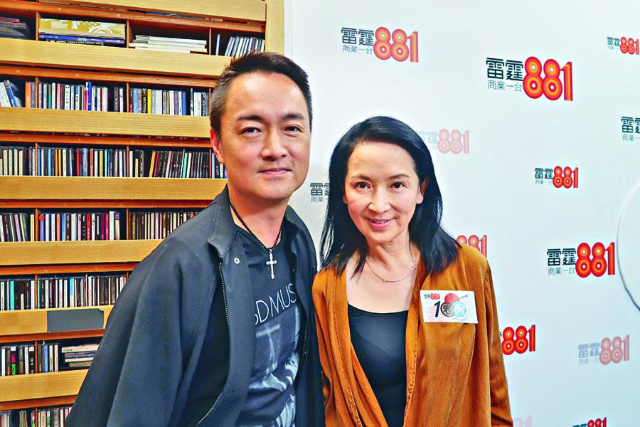 龔慈恩接受電台訪問,公開離婚的主要原因。