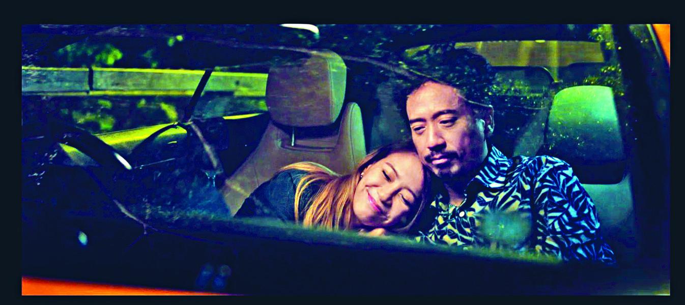 人氣網劇《性敢中環》其中一爆點必定是Eric Kwok與陳嘉莉的「車震」劇情。