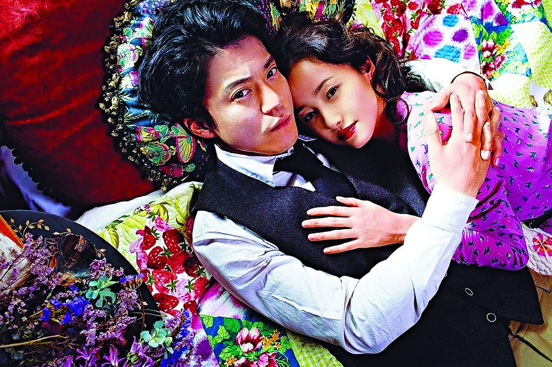 澤尻近年工作不斷,她與小栗旬合演的電影現正 在港上映。