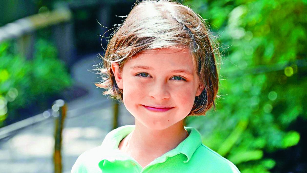 ■比利時九歲神童 西蒙斯。 互聯網