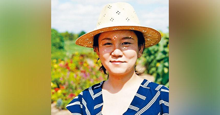圖為失蹤的28歲華裔女子紀夢琪的照片。資料圖片