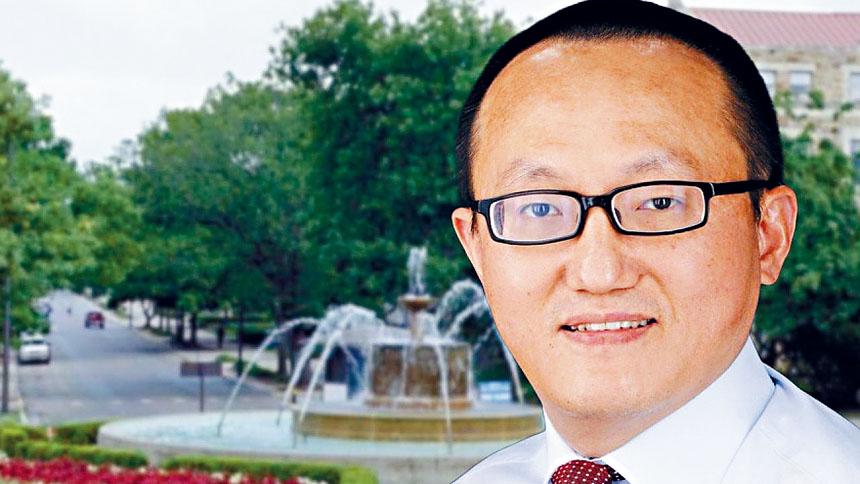 堪薩斯大學華裔教授陶峰在2018年入選「長江學者計劃」,並收到福州大學通過該計劃提供的工作。   ohiostar圖片