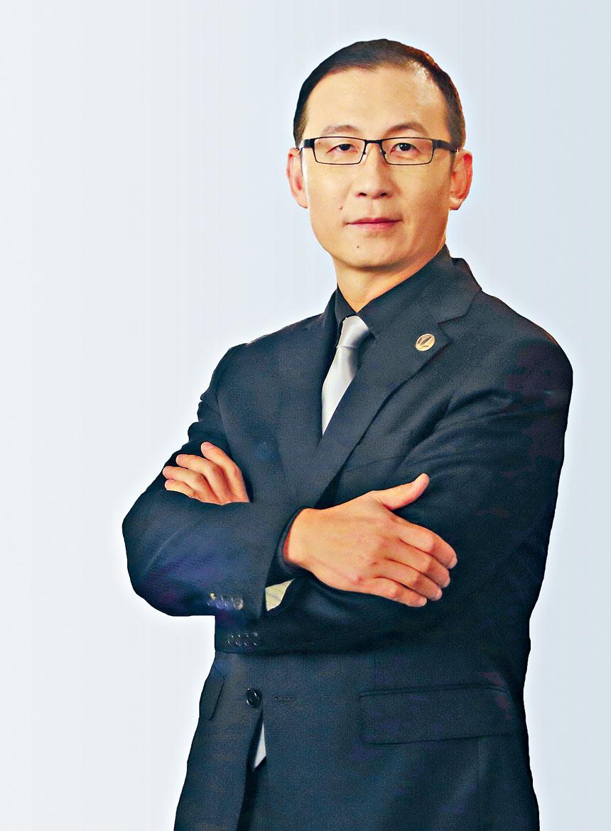 圖為康寶萊原中國區總裁李延亮。源自百度