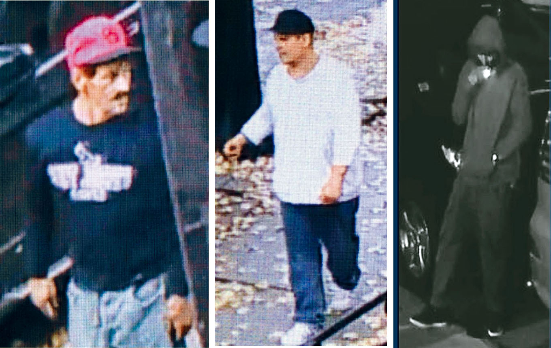 市警61分局通緝持槍搶劫案男嫌。警方提供
