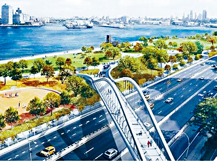 新建東河公園樣圖。資料圖片