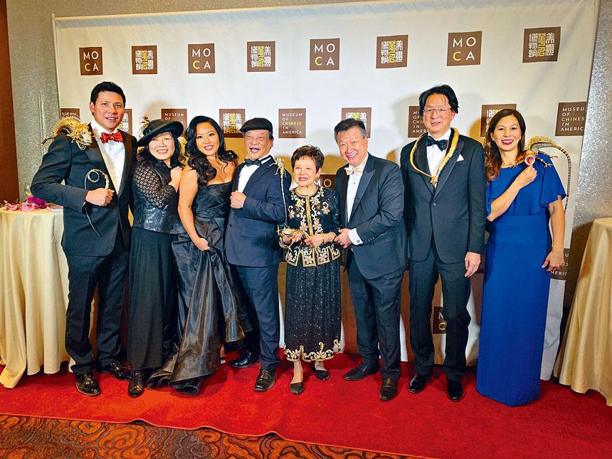 「傳承獎」獲獎者及部分嘉賓合影。