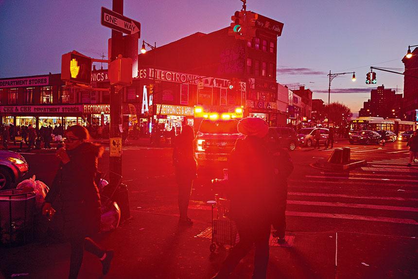 全市槍擊案和謀殺案比去年分別增長3.6%和4.9%。Sarah Blesener/紐約時報