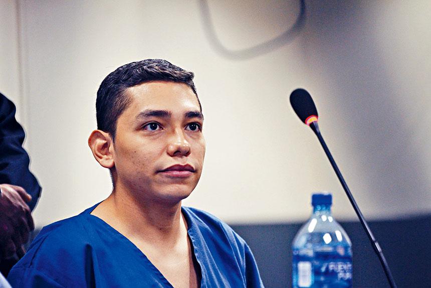 特塞羅殺害婦女罪名成立,被判處30年監禁。美聯社