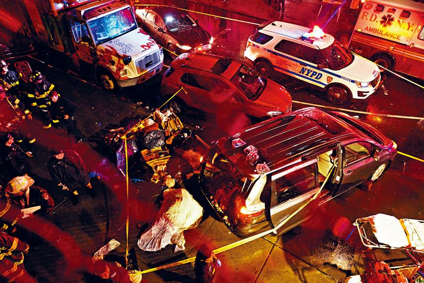 涉案警方人員被指向欺詐集團洩露車禍受害者的個人資料。James Keivom/紐約時報