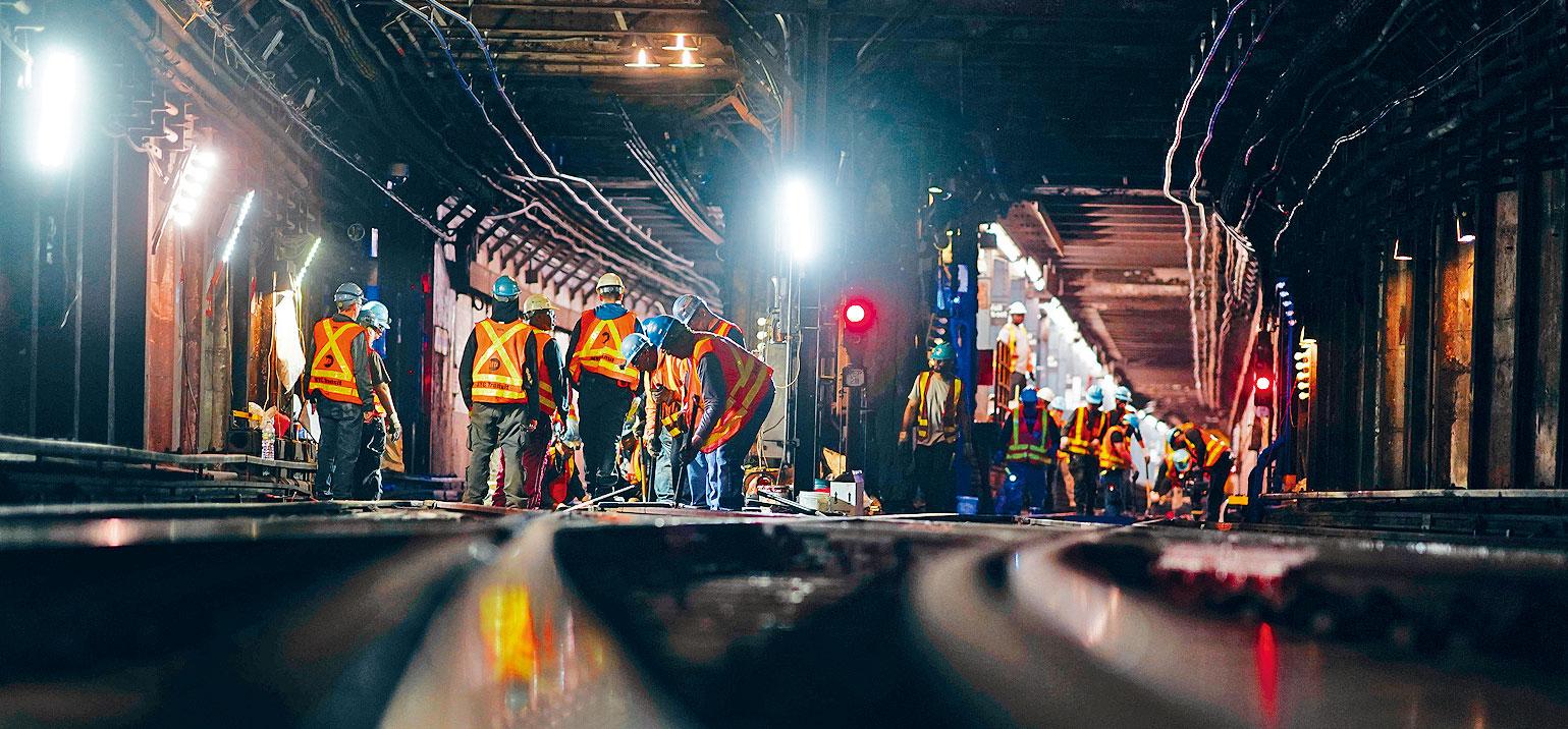 預計公園大道列車棚工程將於2040年完成。Chang W. Lee/紐約時報