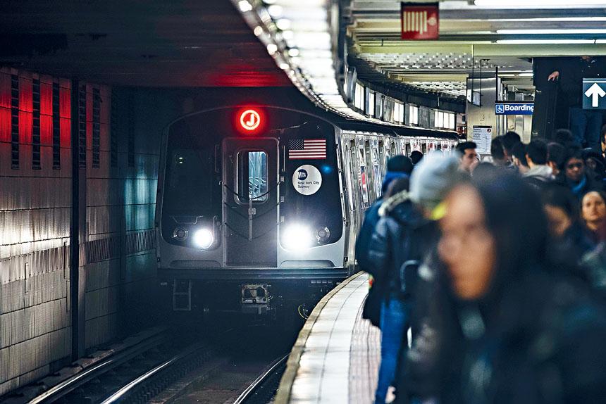 大都會捷運局強調,不能接受任何影響每天800萬乘客的慢駛行動。Karsten Moran/紐約時報