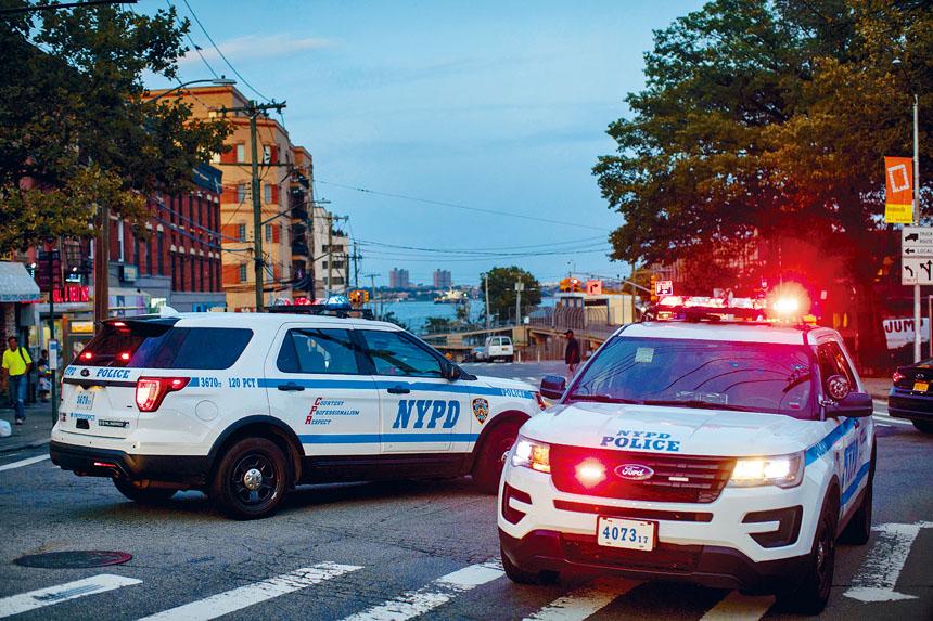 911手機短訊報案系統將於2020年6月投入服務。Dave Sanders/紐約時報