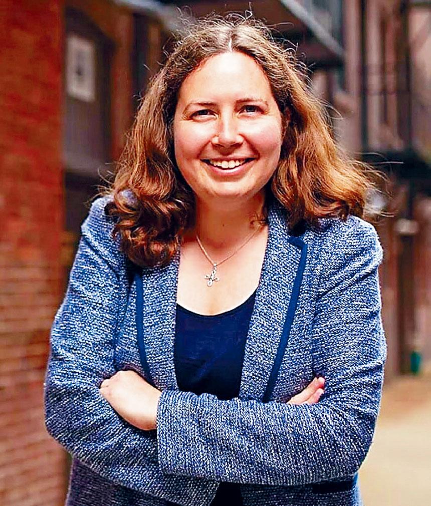 波士頓市議會第八選區候選人白凱欣。檔案圖片