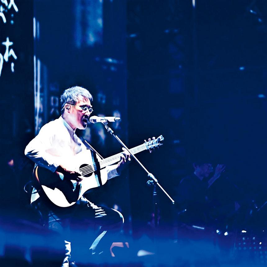 李宗盛「有歌之年」巡迴演唱會今年在全球多個大城市舉行。檔案圖片
