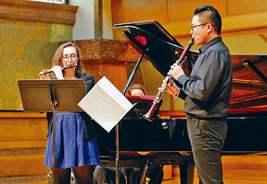 芝加哥羅斯福大學中國留學生學者聯誼會,舉辦秋季音樂演奏會,獲得好評如涌。羅斯福大學學生聯誼會提供