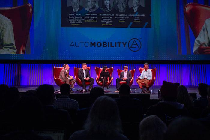 2018年的媒體與交易日活動 AutoMobility LA。主辦方提供