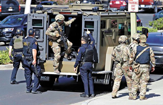 多家媒體聯合調查報道揭發,加州有超過80名正在服役的軍裝警員留有案底。資料圖片