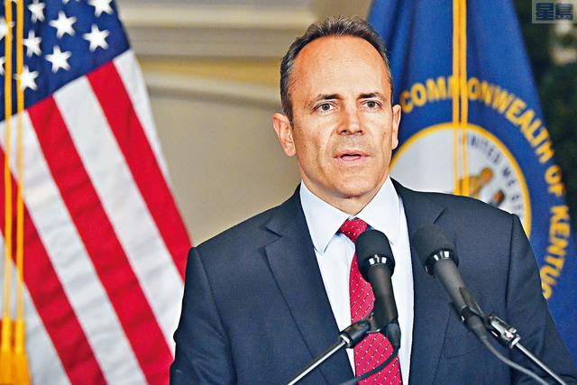 以輕微票數落敗的肯州州長貝文拒絕承認敗選,並要求各縣重新點票。美聯社