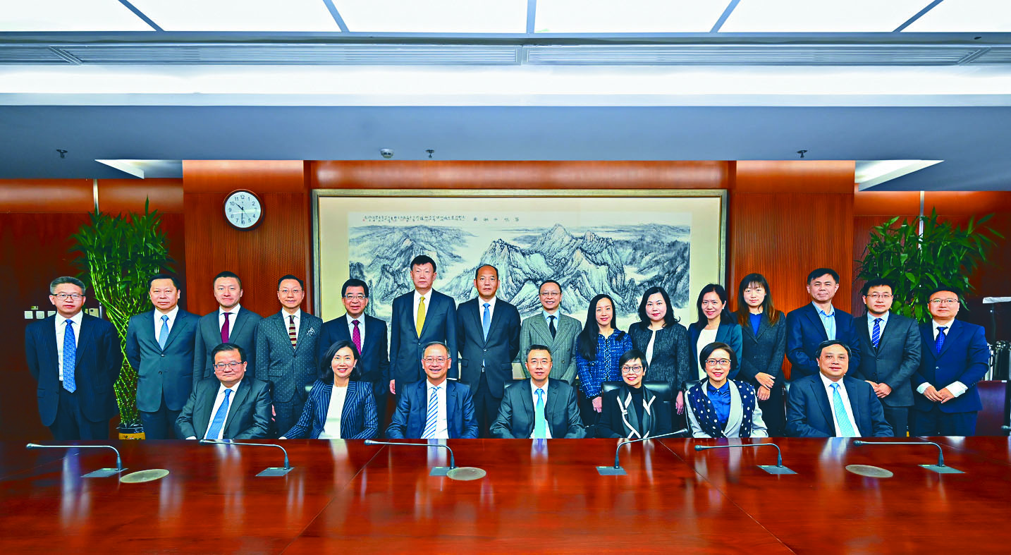 銀行公會昨日結束兩天訪京行程