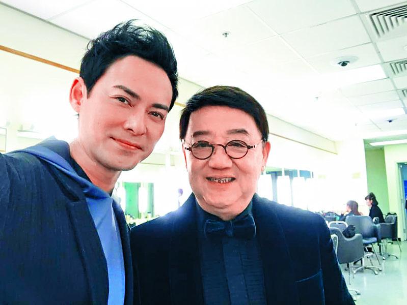 海俊傑(左)感激黎小田教導他很多人生道理。