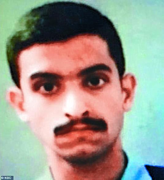 ■涉嫌開槍的沙特空軍少尉沙姆拉 尼。 互聯網