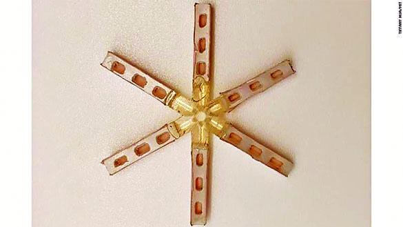 研發中的避孕丸是星星形狀。