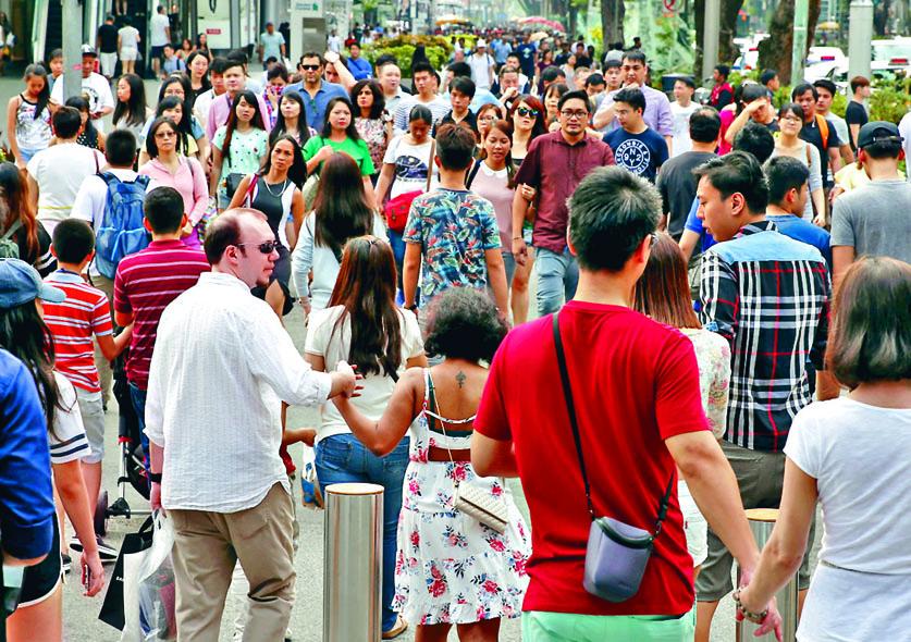 ■新加坡烏節路一個購物區。 互聯網