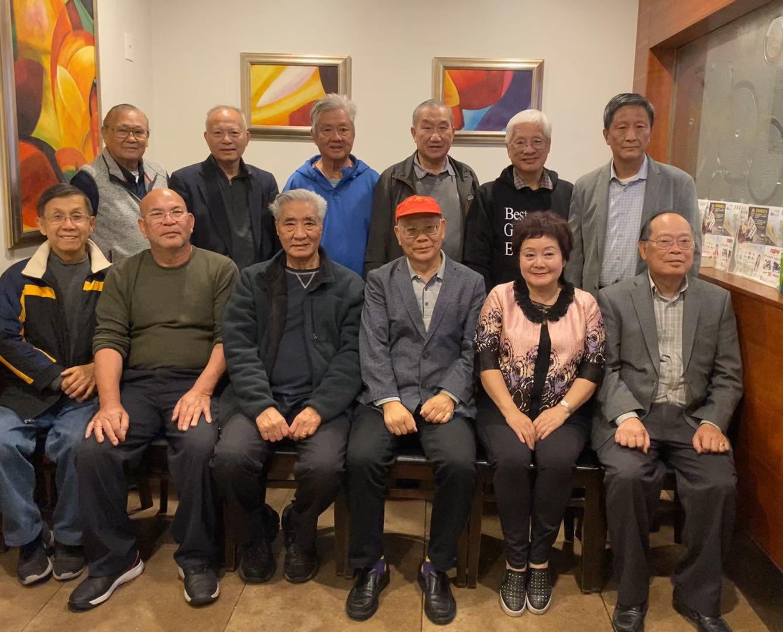 陳燦培(前排右三)當選南加州廣府人聯誼會新一屆會長。