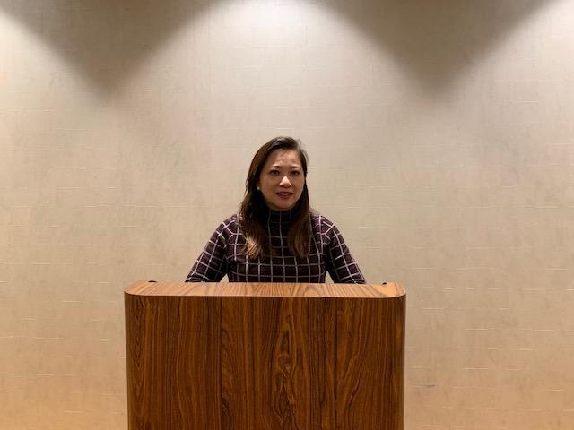 約巴琳達市議員黃瑞雅。記者隋懿軒攝