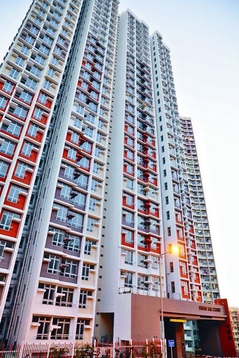 今期最貴居屋「樓王」,位於何文田冠德苑A座二十六樓一個單位。