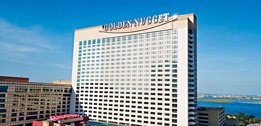 圖為案發的海景黃金酒店大賭場。源自網絡