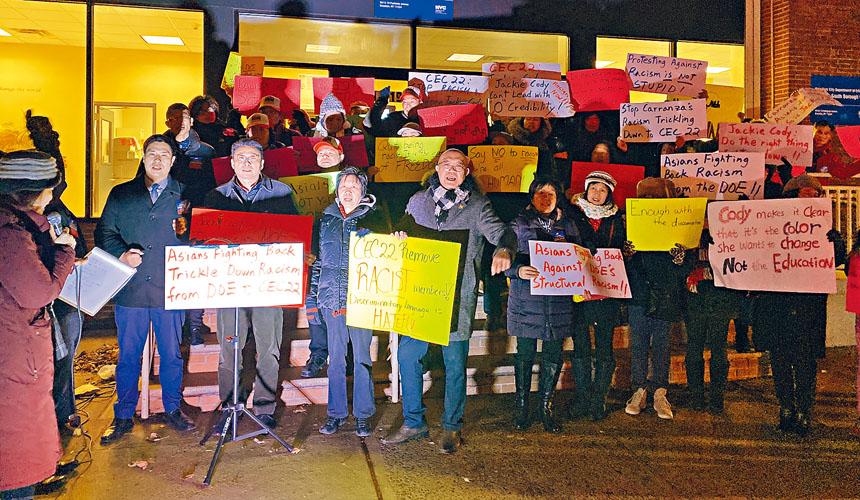 部分參與抗議示威民眾。 張之銘攝