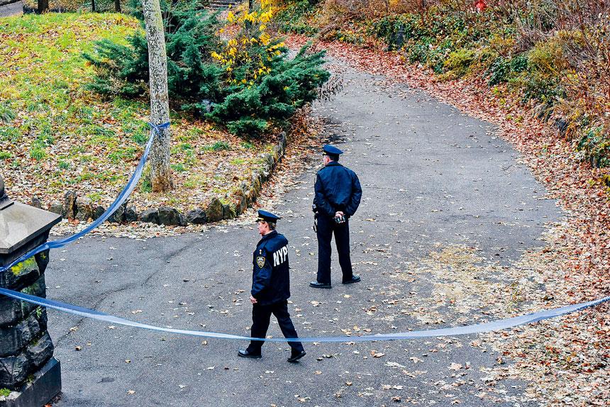 警方已加強在事發地點的巡邏。Stephanie Keith/紐約時報