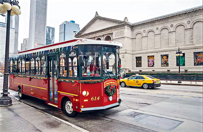 遊客與民眾都十分喜愛乘搭與懷念的電纜車,將於2020年1月1日起在芝加哥市街道上消失,成為芝加哥市民2019年的集體記憶。