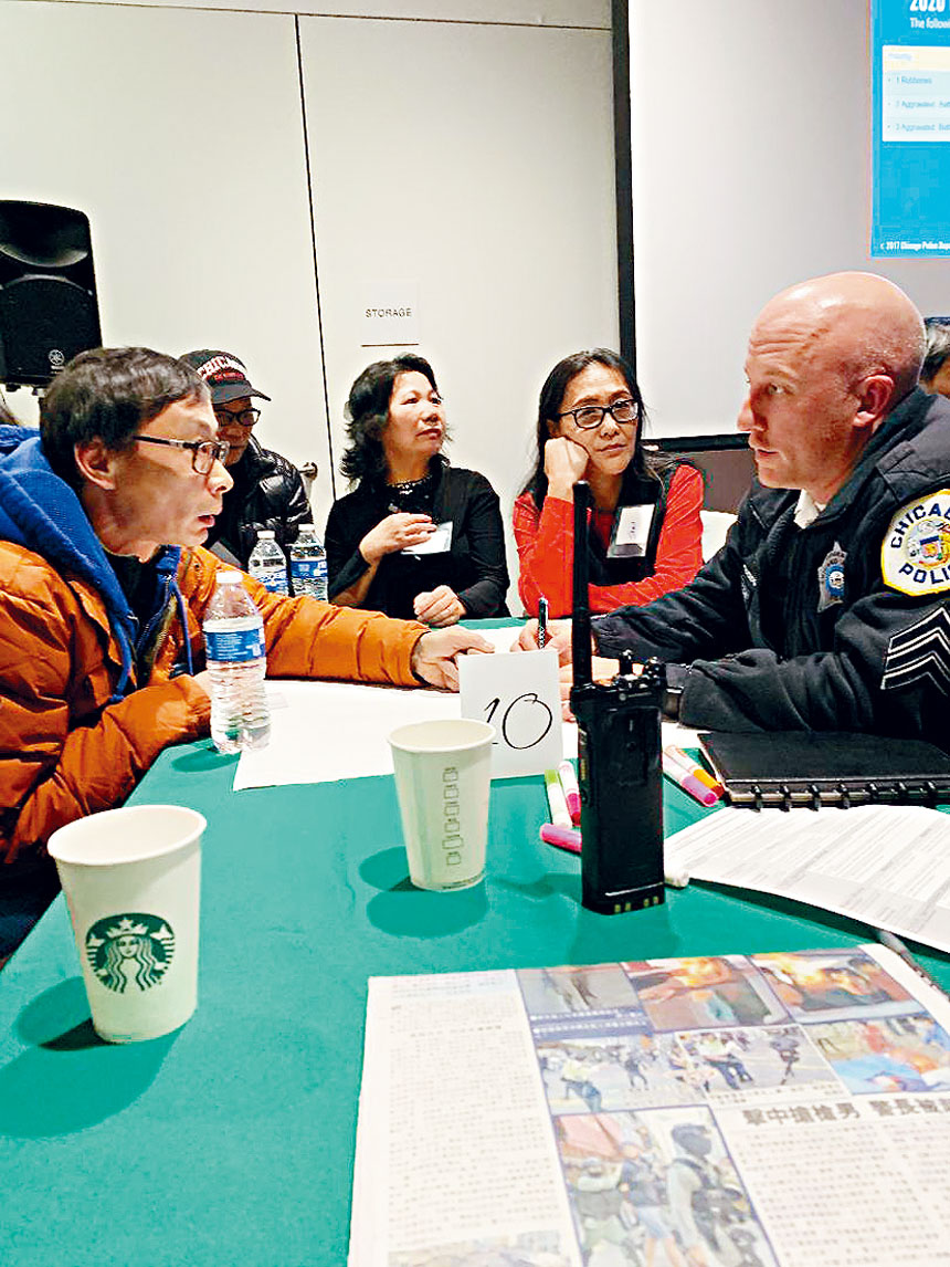 唐人街的居民對於群聚在橋墩下,造成社區的治安與衛生問題非常的關注。