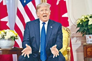 特朗普不滿世界銀行貸款給中國。