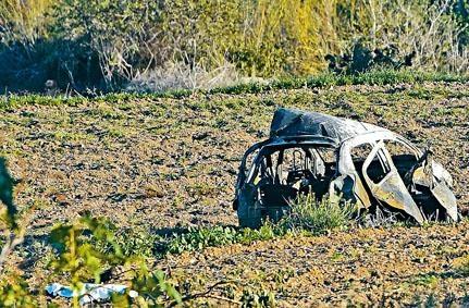 二〇一七年,女記者加利齊亞的座駕被炸至飛墜田野,她當場慘死。