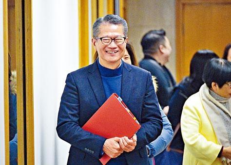 政府會否派錢?陳茂波表示,會聽社會意見。