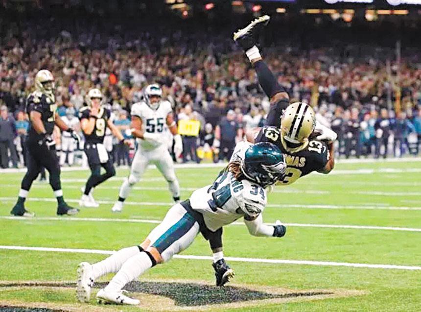 湯瑪斯有望創造NFL歷史。網上圖片