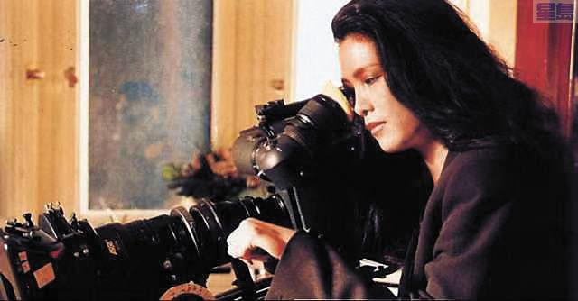 劉香萍在拍攝現場執導。劉香萍提供