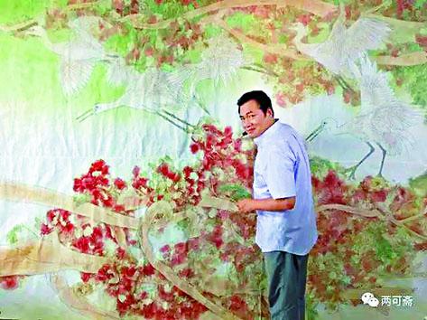 畫家姚舜熙。