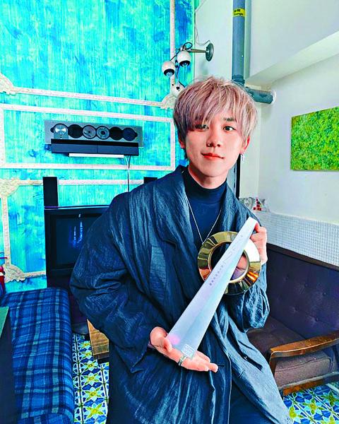20歲的姜濤獲得最有前途新人金獎。