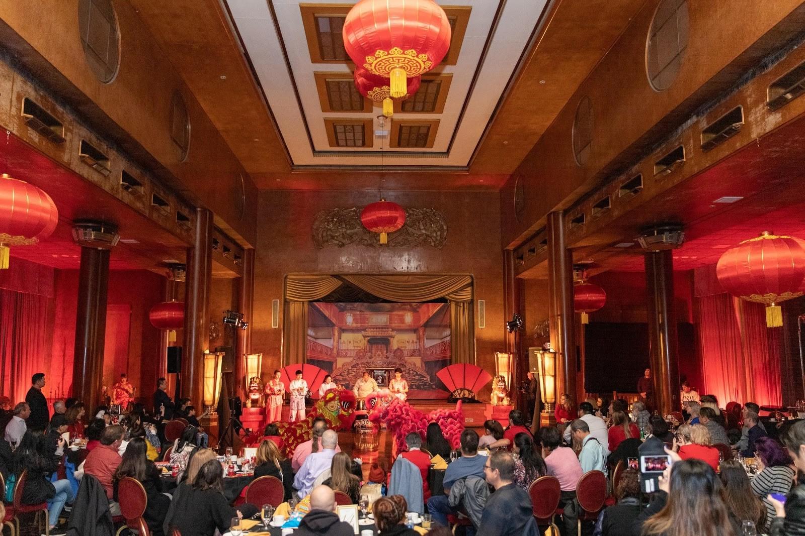 瑪麗皇后號郵輪上的精彩的中國傳統文化表演。 (瑪麗皇后號提供)
