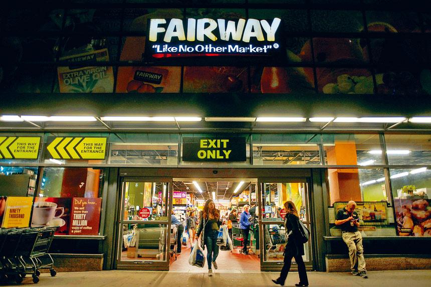 Fairway於23日宣布已申請破產令。Andrew Seng/紐約時報